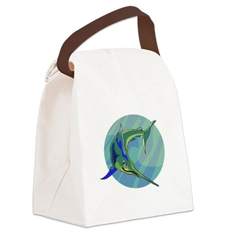 sailfish2.png Canvas Lunch Bag