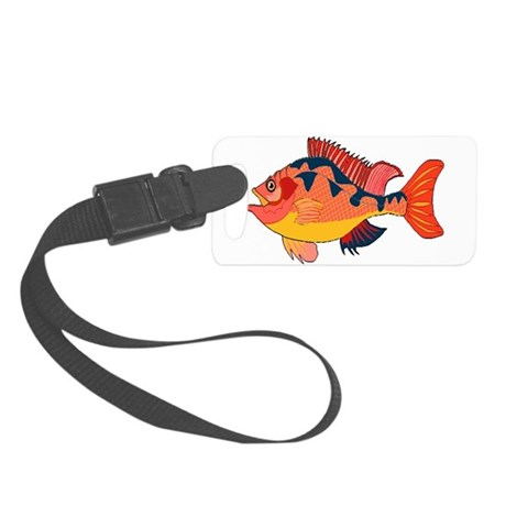 fish Small Luggage Tag