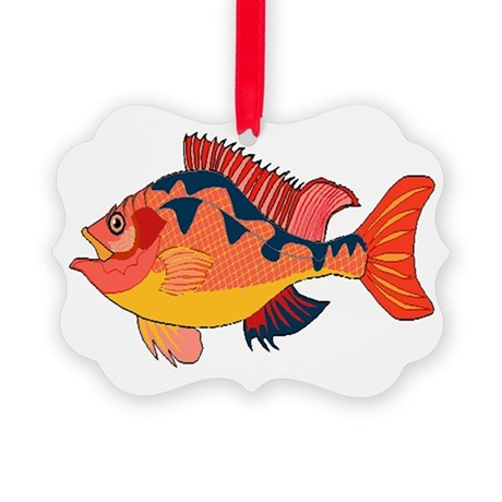 fish Picture Ornament