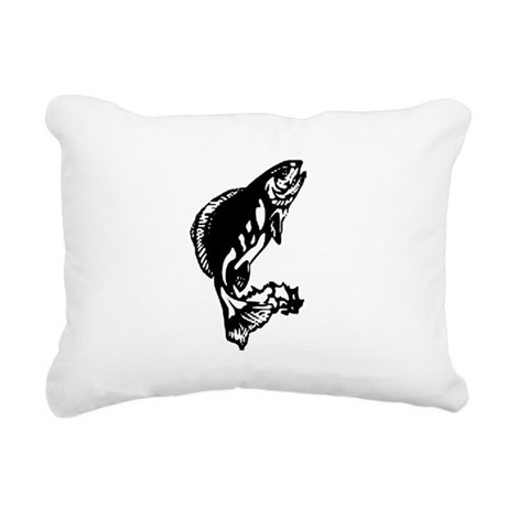 fish1.jpg Rectangular Canvas Pillow