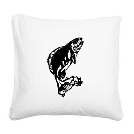 fish1.jpg Square Canvas Pillow