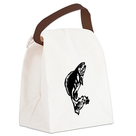 fish1.jpg Canvas Lunch Bag