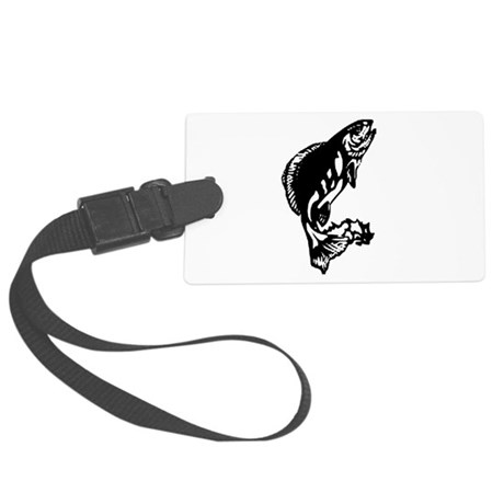 fish1.jpg Large Luggage Tag