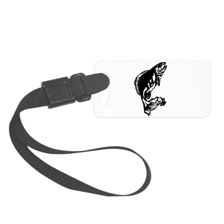 fish1.jpg Small Luggage Tag