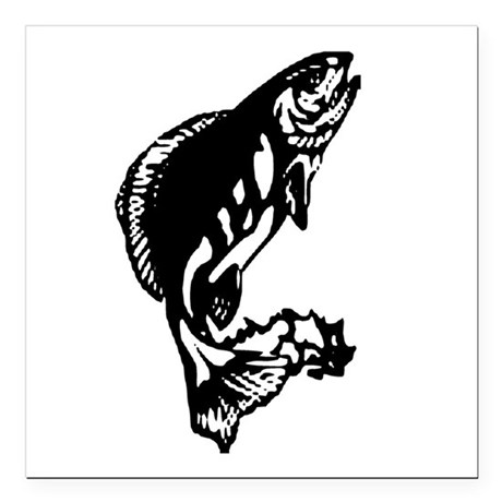 "fish1.jpg Square Car Magnet 3"" x 3"""
