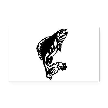fish1.jpg Rectangle Car Magnet