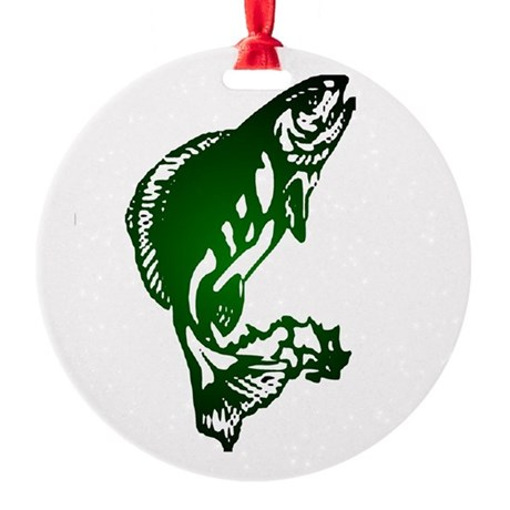 fish Round Ornament
