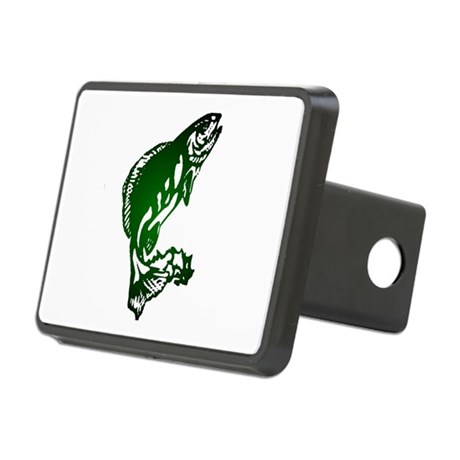 fish Rectangular Hitch Cover