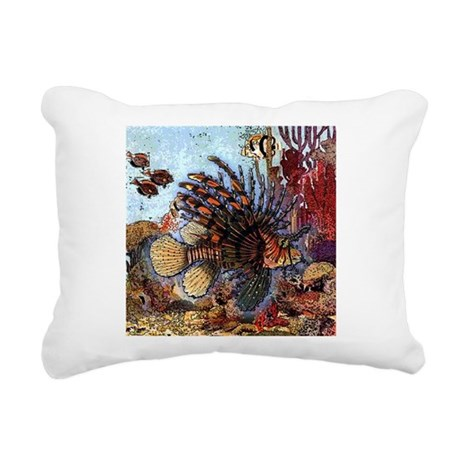 Ocean Window Rectangular Canvas Pillow