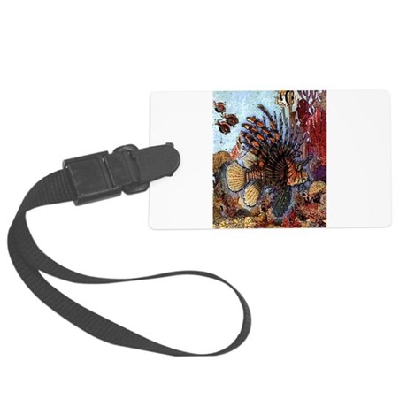 Ocean Window Large Luggage Tag