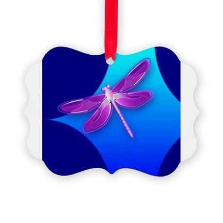 dragonfly22a.jpg Picture Ornament