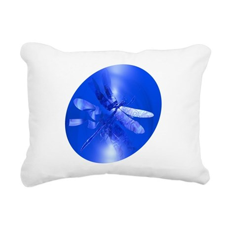 dragonfly11clk8.jpg Rectangular Canvas Pillow