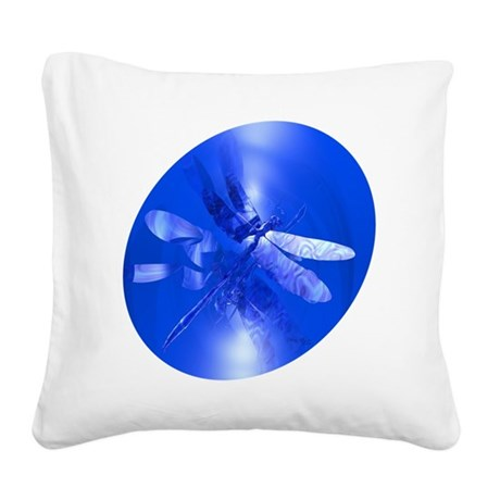 dragonfly11clk8.jpg Square Canvas Pillow