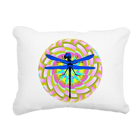 dragonfly21a.png Rectangular Canvas Pillow