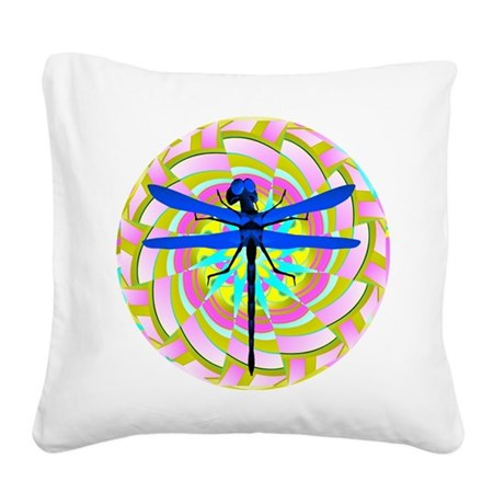dragonfly21a.png Square Canvas Pillow