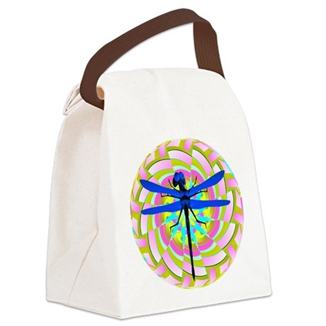 dragonfly21a.png Canvas Lunch Bag