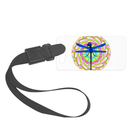 dragonfly21a.png Small Luggage Tag