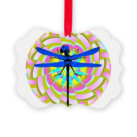dragonfly21a.png Picture Ornament