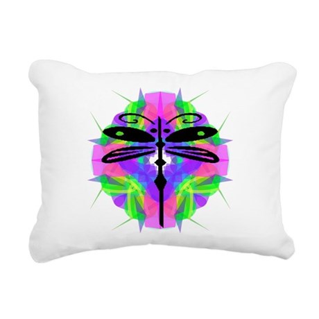 dragonfly20.png Rectangular Canvas Pillow