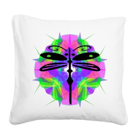 dragonfly20.png Square Canvas Pillow