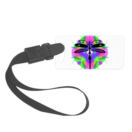 dragonfly20.png Small Luggage Tag