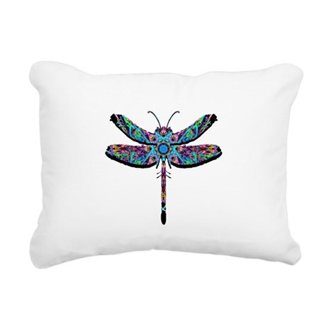 dragonfly22.png Rectangular Canvas Pillow