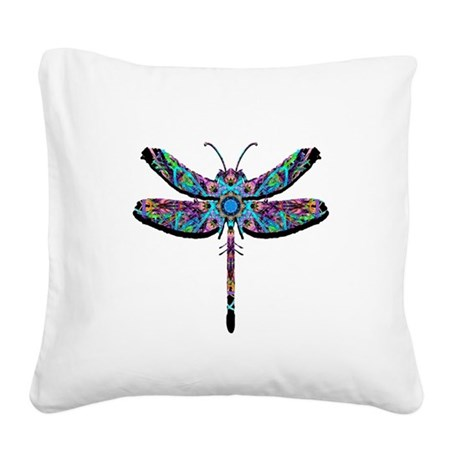 dragonfly22.png Square Canvas Pillow