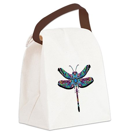 dragonfly22.png Canvas Lunch Bag