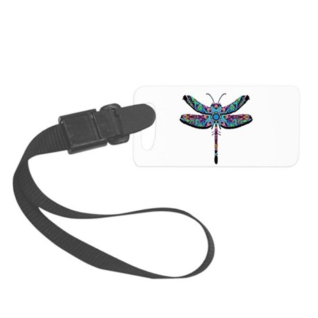 dragonfly22.png Small Luggage Tag