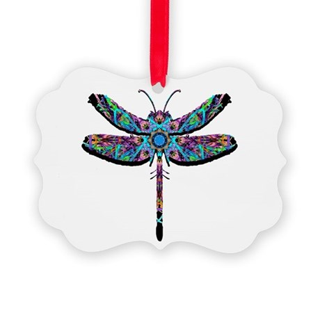 dragonfly22.png Picture Ornament