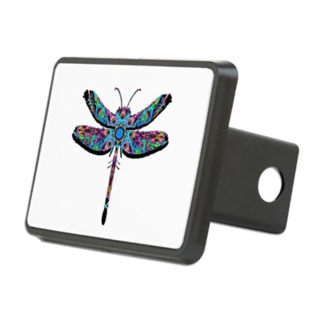 dragonfly22.png Rectangular Hitch Cover