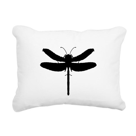 dragonfly4.png Rectangular Canvas Pillow
