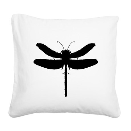 dragonfly4.png Square Canvas Pillow