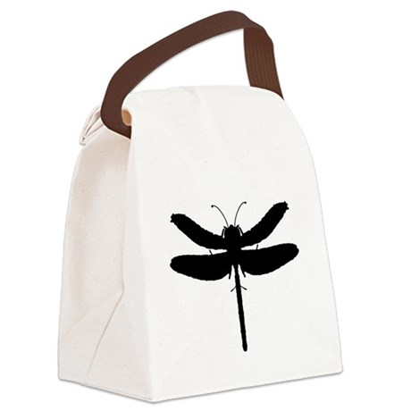 dragonfly4.png Canvas Lunch Bag