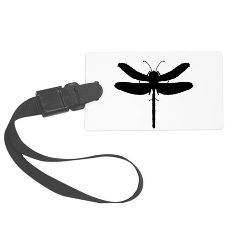 dragonfly4.png Large Luggage Tag