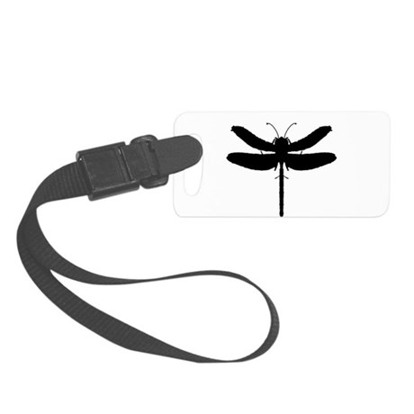 dragonfly4.png Small Luggage Tag
