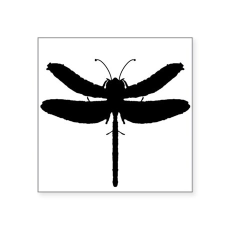 "dragonfly4.png Square Sticker 3"" x 3"""
