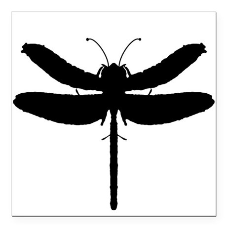 "dragonfly4.png Square Car Magnet 3"" x 3"""