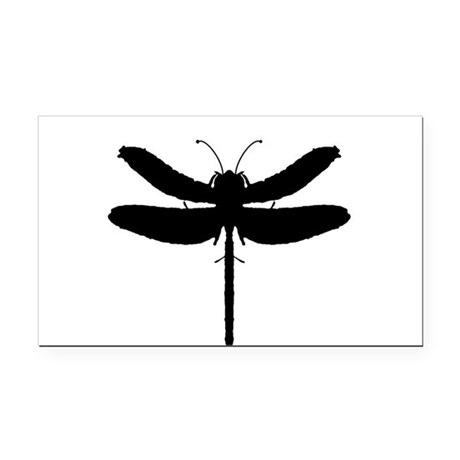 dragonfly4.png Rectangle Car Magnet