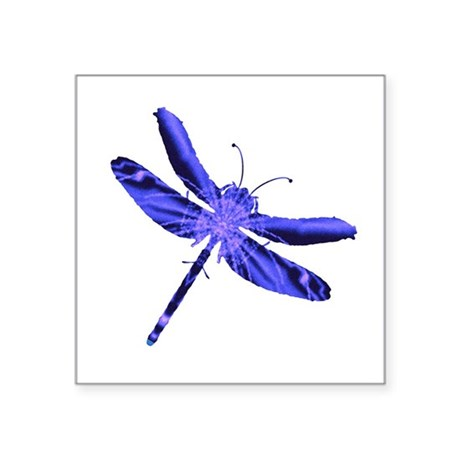 "dragonfly4a.png Square Sticker 3"" x 3"""