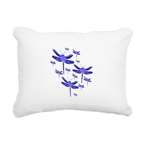 dragonfly4c.png Rectangular Canvas Pillow