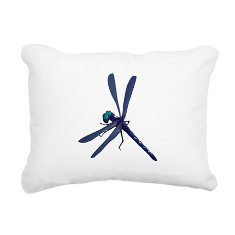 dragonfly7.png Rectangular Canvas Pillow