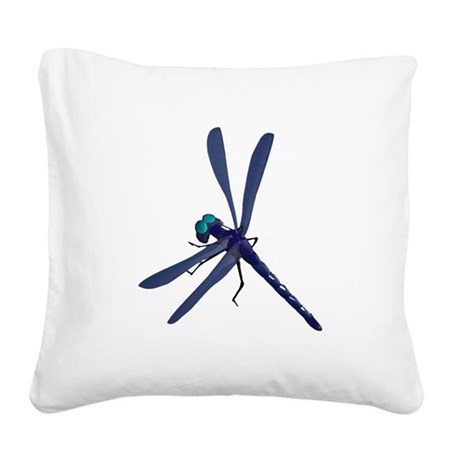 dragonfly7.png Square Canvas Pillow