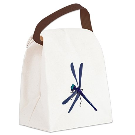 dragonfly7.png Canvas Lunch Bag