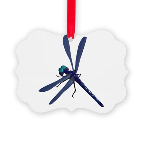 dragonfly7.png Picture Ornament