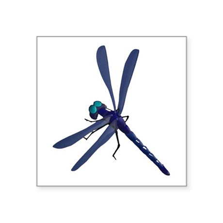 dragonfly7.png Square Sticker 3&quot; x 3&quot;