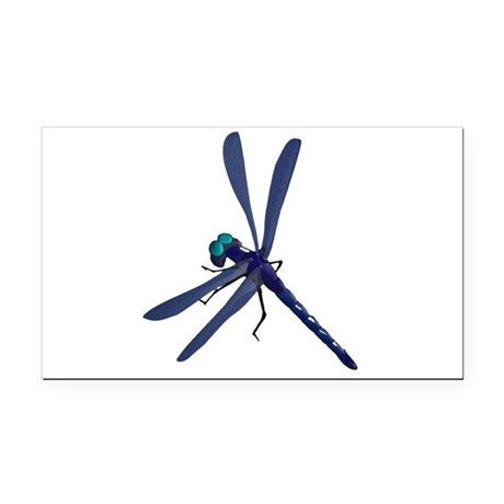 dragonfly7.png Rectangle Car Magnet