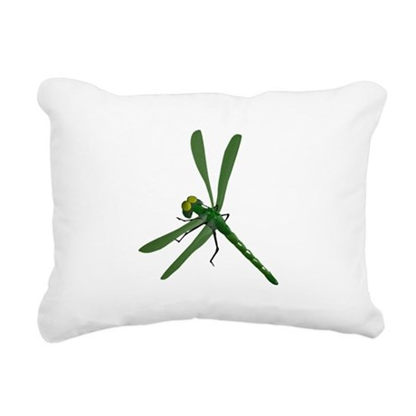 dragonfly7a.png Rectangular Canvas Pillow