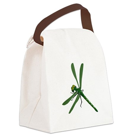 dragonfly7a.png Canvas Lunch Bag
