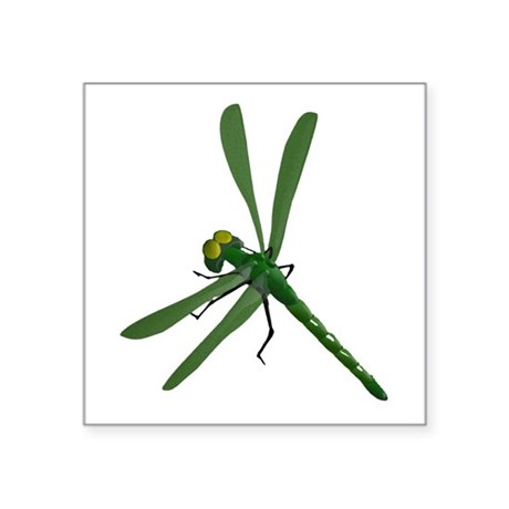 "dragonfly7a.png Square Sticker 3"" x 3"""